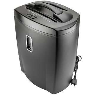 Shred Plus Cross Cut Paper Trimmer shredder with 21 L waste bin-Auto Start  Off, Auto Reverse, Auto Clear, Sheet capac