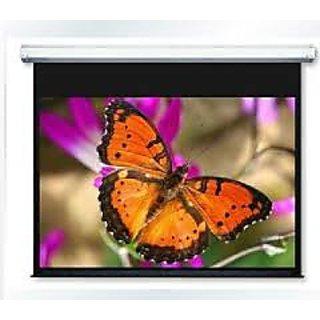 Motorised Projector Screen Size 8 Feet X 10 Feet A++++ D Series Pro