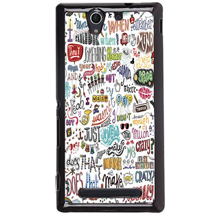 Sony Xperia C3  Printed Back Cover by Print Vale