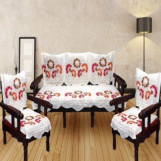 Sns Multicolor Fl Polycotton Sofa Covers