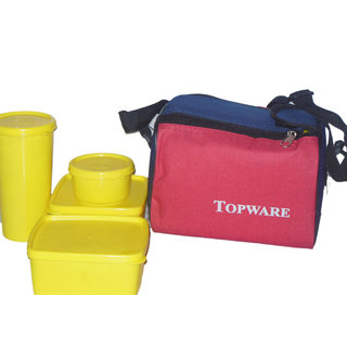 Topware Yellow Lunch Box
