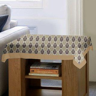 Lushomes Earth Printed Side Table Cloth