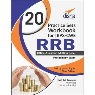 20 Practice Sets Workbook for IBPS-CWE RRB Office Assistant (Multipurpose) Preliminary Exam