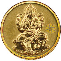 Diwali Special Offer Buy 140mg Laxmi Gold Coin Get Gold Foil Envelope Free By Parshwa Padmavati Gold