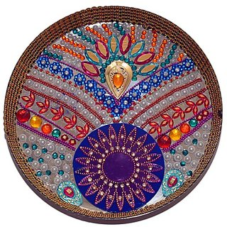Handmade Decorative Aarti Plate (Thali)