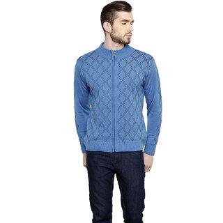 Freak'N Blue High Neck Pullover for Men
