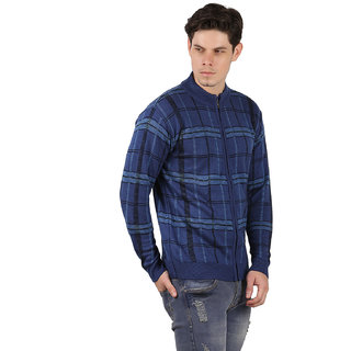 Freak'N Blue Round Neck Pullover for Men