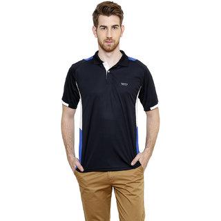 Freak'N Blue Polo Neck T-Shirt for Men