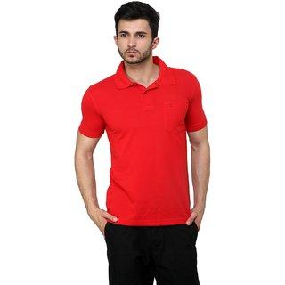 Cotton County Polo Neck Half Sleeve T-Shirt for Men