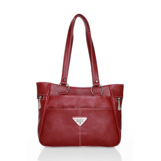 Lady queen maroon casual bag LQ-325