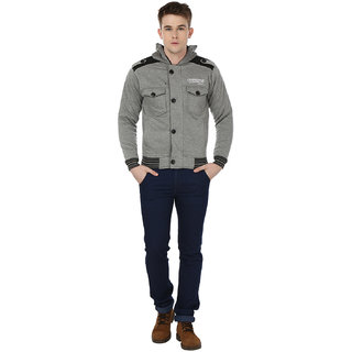 Freak'N Grey Long sleeve Jacket for Men
