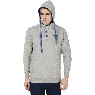 Freak'N Grey Hooded Sweatshirts for Men