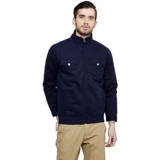 Cotton County Blue Long Sleeve Jacket for Men
