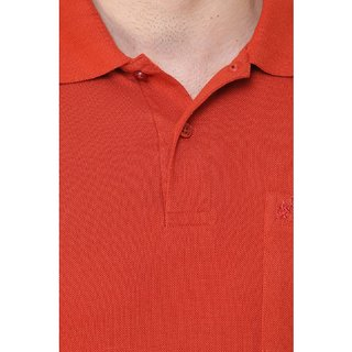 Cotton County Polo Neck Half Sleeve T-Shirt for Men
