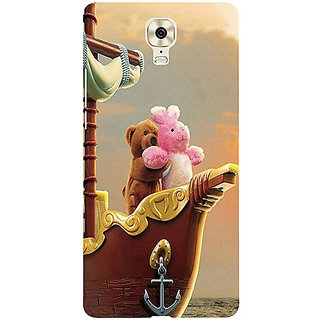Casotec Funny Titanic Design 3D Printed Hard Back Case Cover for Gionee M6 Plus