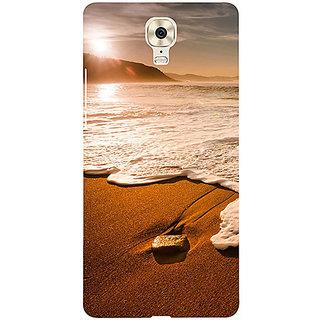 Casotec Sun Set Beach Design 3D Printed Hard Back Case Cover for Gionee M6 Plus