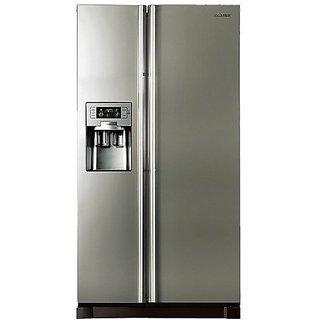 Samsung Side by Side Refrigerator RS21HUTPN Silver 585 Litre