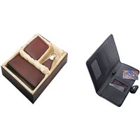 SUSHA Gents Wallet, Ladies Wallet, Key Ring,Passport Holder Combo (SS-804SS-846)