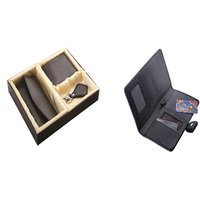 SUSHA Gents Wallet, Ladies Wallet, Key Ring,Passport Holder Combo (SS-806SS-846)