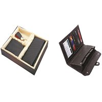 SUSHA Gents Wallet, Ladies Wallet, Key Ring,Passport Holder, Calculator Combo (SS-808SS-843)