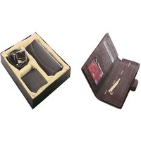SUSHA Gents Wallet, Ladies Wallet, Gents Belt,Passport Holder Combo (SS-809SS-847)