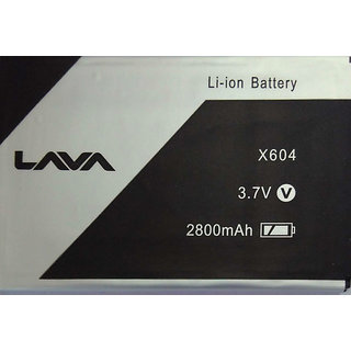 New Hi Quality Replacement Battery for LAVA Magnum X604 2800 mAh