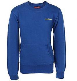 HAIG-DOT RoyalBlue Round Neck Sweatshirt for Boys