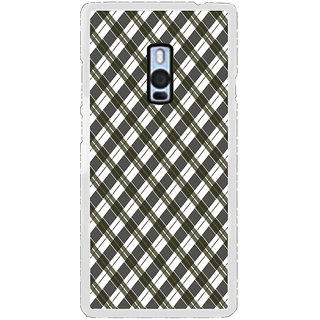ifasho Colour Full Square Pattern Back Case Cover for OnePlus 2