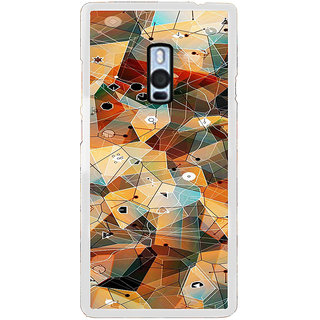 ifasho Modern Theme of royal design in colorful pattern Back Case Cover for OnePlus 2