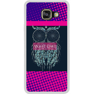 ifasho Stylish Owl Back Case Cover for Samsung Galaxy A3 (2016)