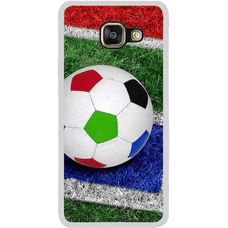 ifasho Foot ball Back Case Cover for Samsung Galaxy A3 (2016)
