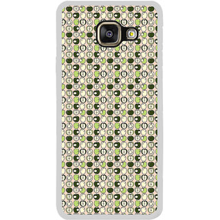 ifasho Animated Pattern design many small  full and half Back Case Cover for  Galaxy A3 (2016)