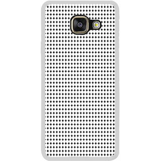 ifasho Modern Art Design animated cloth Pattern of small star Back Case Cover for Samsung Galaxy A7 (2016)