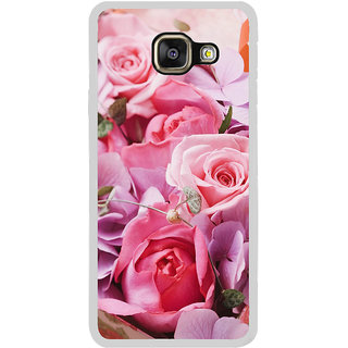 ifasho Red Rose Back Case Cover for Samsung Galaxy A7 (2016)