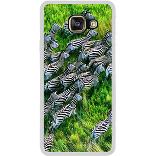 ifasho Zebra with Stripes Back Case Cover for Samsung Galaxy A7 (2016)
