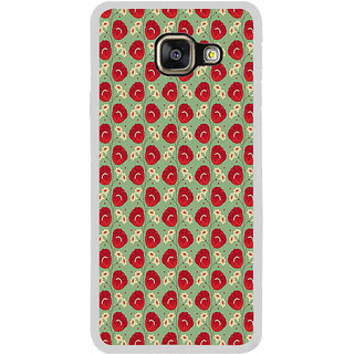 ifasho Animated Pattern flower with leaves Back Case Cover for Samsung Galaxy A7 (2016)