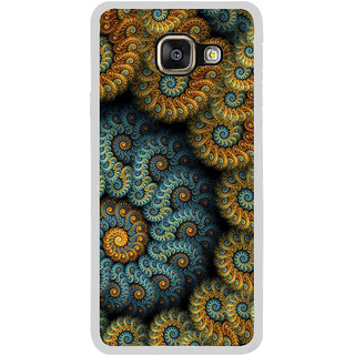ifasho Animated Pattern design colorful flower in royal style Back Case Cover for Samsung Galaxy A7 (2016)