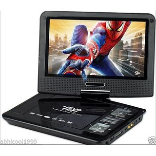 FINEST 7.8 3D PORTABLE LAPTOP EVD/DVD PLAYER, LED TV TUNER,USB CARD READER,GAME