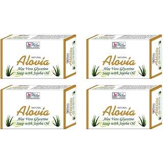 BeSure Aloe Vera Soap Pack of 4(75g Each)