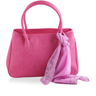 Go India Store Pink color Handbags