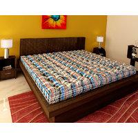 bellz 2 pc single cotton multicheck mattress combo offer