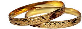 Lakshya Gold Plated Bangle -L-002