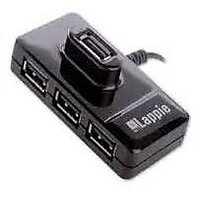 IBall Lappie Piano 423 High Speed 4 Port USB Hub Extens