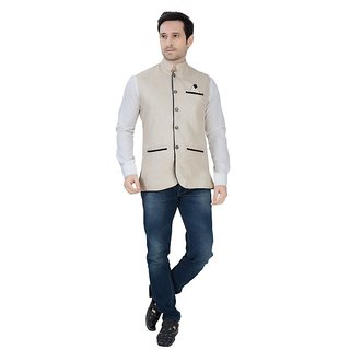 5d35f4aaca1 Buy Men s Nehru and Modi Jacket Ethnic Style For Party Wear Online ...