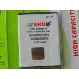 100 % ORIGINAL ERD BATTERY FOR SAMSUNG S3850 CORBY 2 CORBY II MOBILE WITH BILL SEAL PACK & 6 MONTHS MANUFACTURER WARRANTY