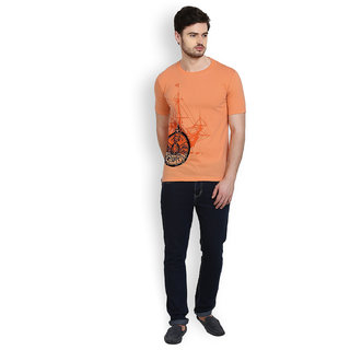 Cotton County Round Neck Half Sleeve T-Shirt for Men