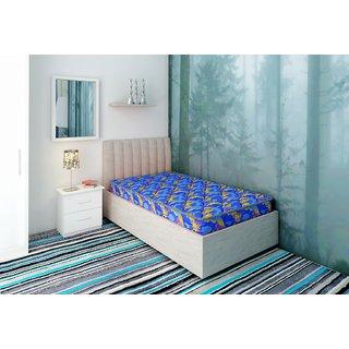 bellz single foam blue mattress 35724inch