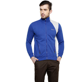 Freak'N Blue High Neck Sweatshirt for Men