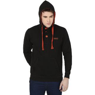 Freak'N Black Hooded Sweatshirts for Men