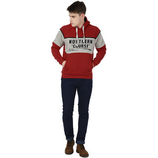 Freak'N Red Hooded Sweatshirts for Men